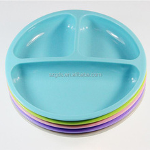 Baby Carrot Toddler Divided Plates Soft, Unbreakable, Safe, BPA Free