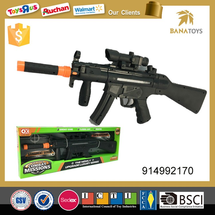 Hot sale plastic sniper rifle toy gun