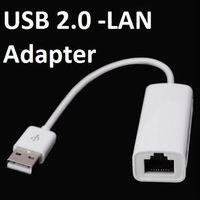 USB 2.0 LAN Adapter RJ45 Android Mini PC TV Tablet Mac OS Macbook Ethernet Stick