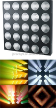 5x5 LED stage matrix light 10w 3in1 rgb stage light 25pcs led matrix