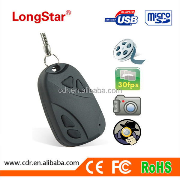 Mini DV 808 Car Key Very Very Small Mini Hidden CCTV Video Camera Free YM-M001
