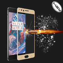HUYSHE 2017 New Premium 3d full AB glue full cover screen protector anti-scratch tempered glass screen protector for Oneplus 5