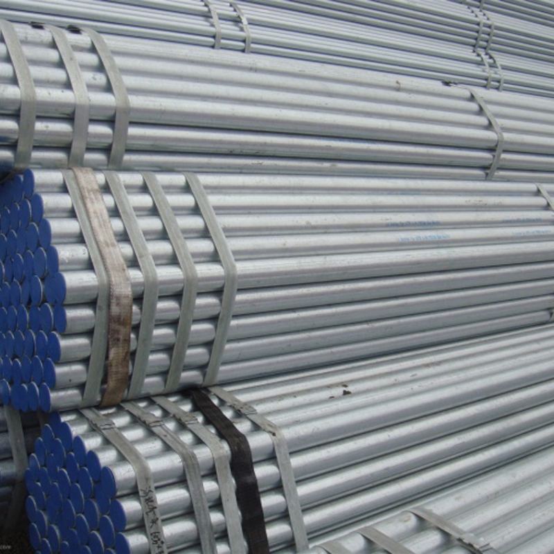 Hot Dipped Galvanized Steel Pipe / Zinc Galvanized Round Steel Pipe For Building Material