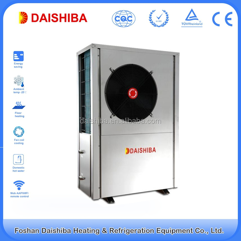 10kw - 90kw factory hot sale instant ecological heat pump with CE