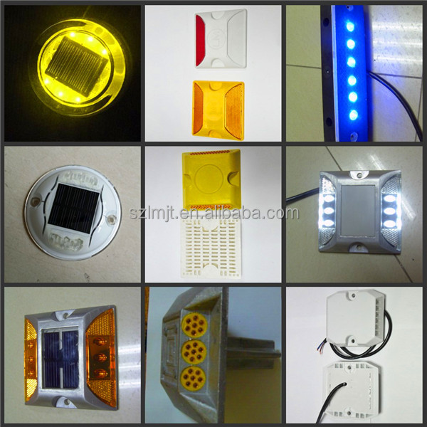 Direct manufacturer LED tunnel induce light trapezoid wired active delineator