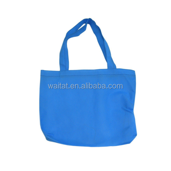 Folding Popular Non-Woven Blue Shopping Bag Packaging