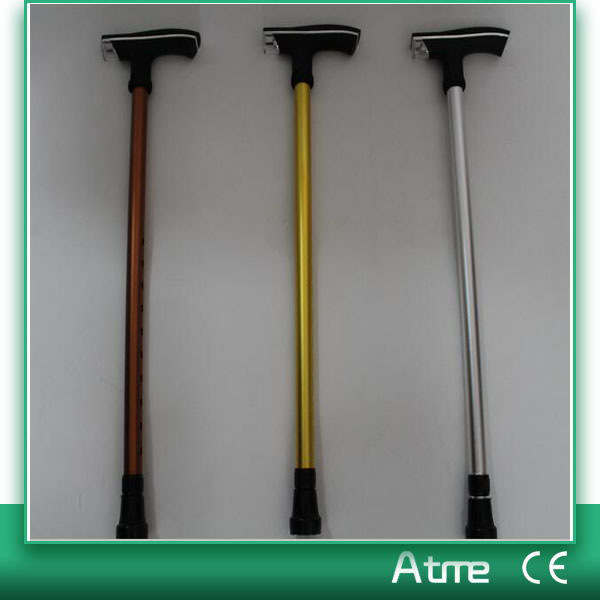 New Blind Adjustable Offset Hook Walking Stick Aluminum Canes