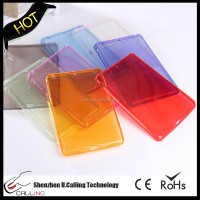 Hot case air2 transparent Crystal shell for ipad6/air2 smart Silicone cover TPU case