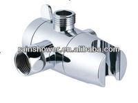 3 way diverter/ chrome silver combination