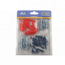 popular item on Amazon hardware kit 58pcs screws and anchors kit including self tapping screw,anchors