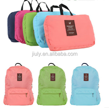 Promotion Light Weight Travel Foldable Backpack, Nylon folding Waterproof Backpack