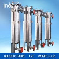 INOCO stainless steel filter with PP bag filter