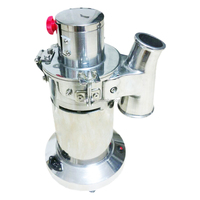 Automatic Hammer Mill Herb Grinder, Pulverizing Machine, 3 Filter Bags