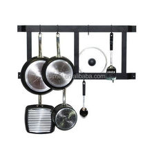 Wall-mounted Pot Rack With Hook Hanger