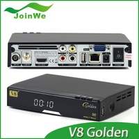 Smart R I N G Home Audio, Video & Accessories Tv Receivers Satellite Tv Receiver Iptv Box V8 Golden Combo Hd Tv