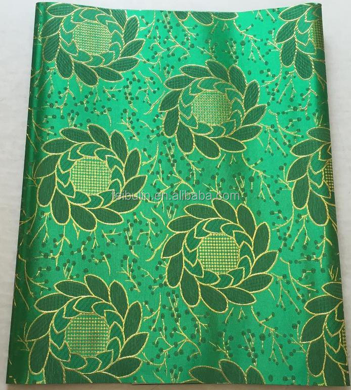 New 2017 fashion african sego headtie wholesale high quality African sego gele 2pcs/lot JWS-1533 green