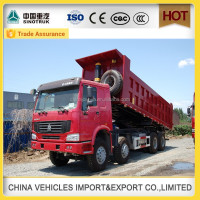 side tipper china famous brand new man dump truck 50 ton dumper a7
