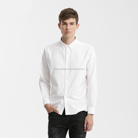Man S White Oxford 100 Cotton