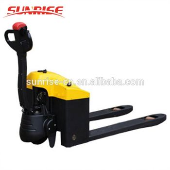 Warehouse use 2tons trolley battery operated pallet truck