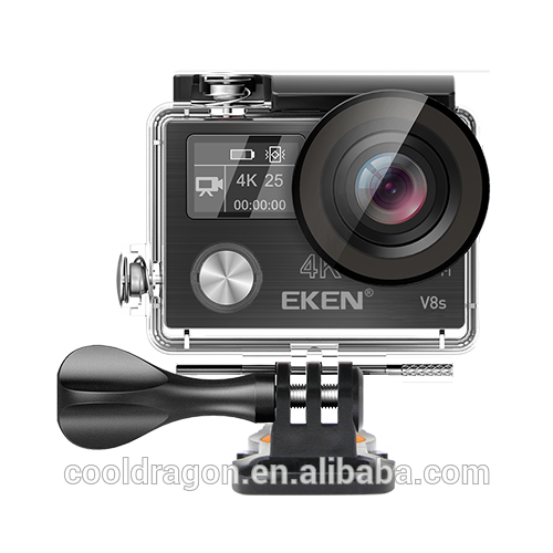Original EKEN V8S Dual screen Ambarella A12 chip Sports Cam 4k 25fps 1080p 60fps EIS Action Camera Be unique
