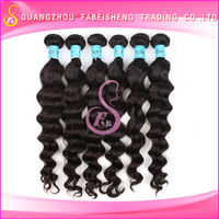 Tangle & Shedding free virgin brazilian queen weave beauty loose wave for your reference