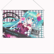 New Miku Hatsune Romeo and Juliet Japanese Anime Art Wall Scroll Poster Limited Edition High Quality H0356