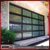 Sectional aluminum alloy glass garage door price