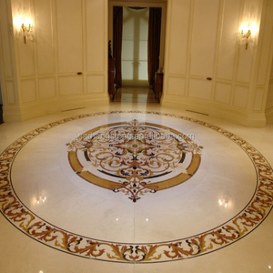 Waterjet Medallion Foyer Medallion Floor Tile