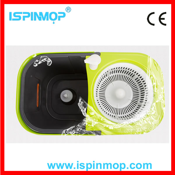Best selling high quality static mop with PP basket
