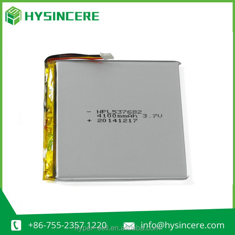 New arrival 3.7V 4100mAh deep cycle battery for GPS/Toys/Cell phone/Ebook/GPS/PMP/digital products