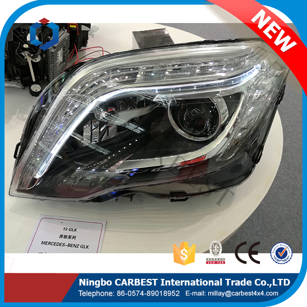 High Quality New Car Head Light for Mercedes-Benz Glk 2013