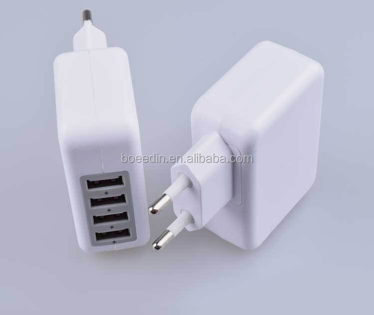 Good Quality 4 Usb Ports 5V 5.1A Cell Phone Super Charger