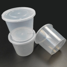 take away thermal microwavable plastic 672ml / 24 oz disposable lunch box containers for food wholesale supply
