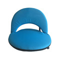 Small Round Adjustable Folding Chair Portable Floor Seating Chair Floor Legless Chair