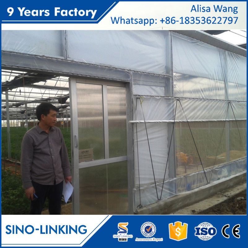 SINOLINKING low operating cost tubular greenhouse for seeding