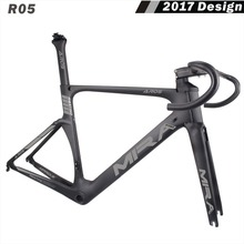 MIRACLE 700C aero design full carbon fiber road bike frame fork seatpost handlebar carbon road bike frames