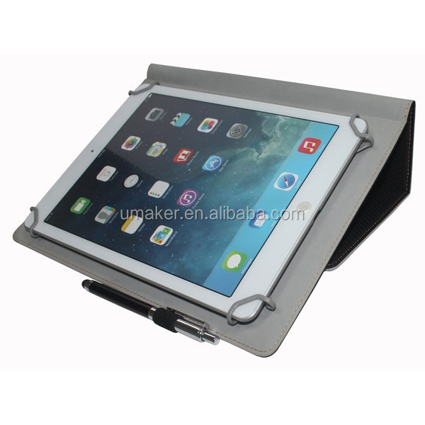 High Quality in stock universal Flip Leather Case for iPad