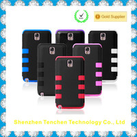 Silicone +PC Soft Cover Robot Case for Samsung Galaxy Note 3