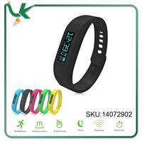Wristband APP OLED Bluetooth Smart Sport Silicone healthy Bracelet