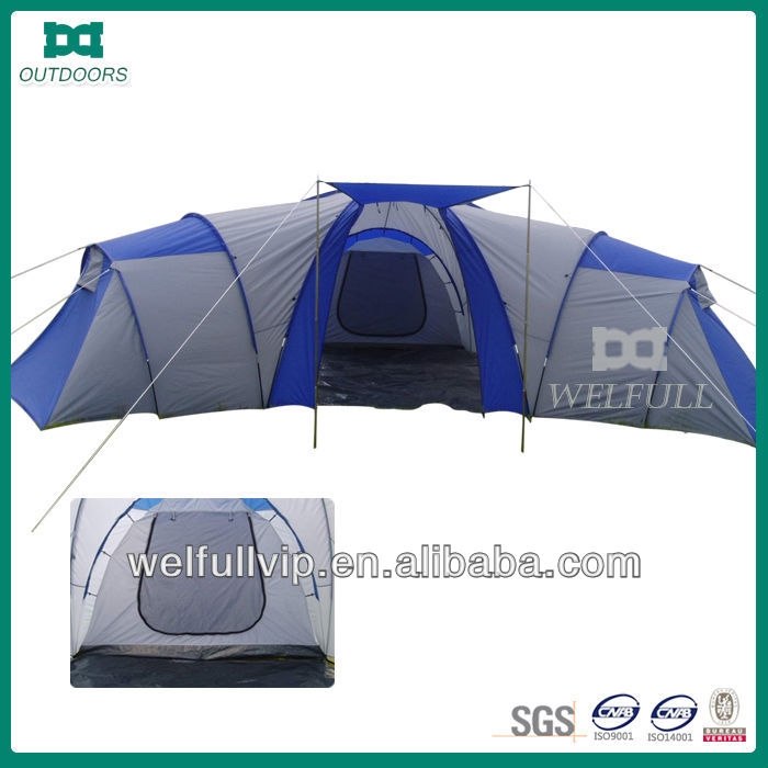 big family camping tent 5 room