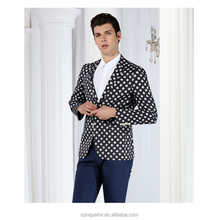 MODEL NO.SUIT2271 MTM tailor made polka dots casual suit