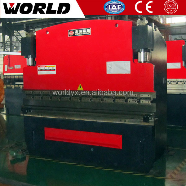 electro hydraulic valve 125ton CNC channel letter bending machine (WE67K)