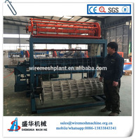 Professional hinge joint cattle fence machine for wholesale
