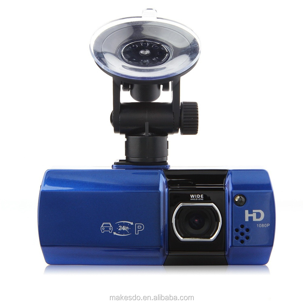 "AT580 2.7"" LCD 148 Wide Angle Lens FHD 1080P Car DVR Camcorder Loop Recording Blue"