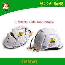 More security colorful and fashion safety folding motorcycle bicycle helmet