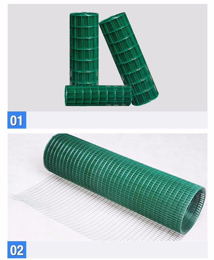 Green Color Epoxy Coated Welded Wire Mesh Buy Green