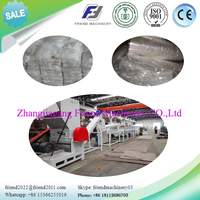 Waste plastic PP film recycle crushing washing drying machine/line/plant