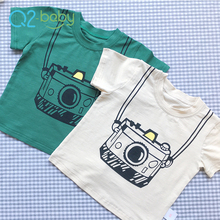 Q2-baby Toddler Clothing Baby Boys New Design T Shirts In Bulk