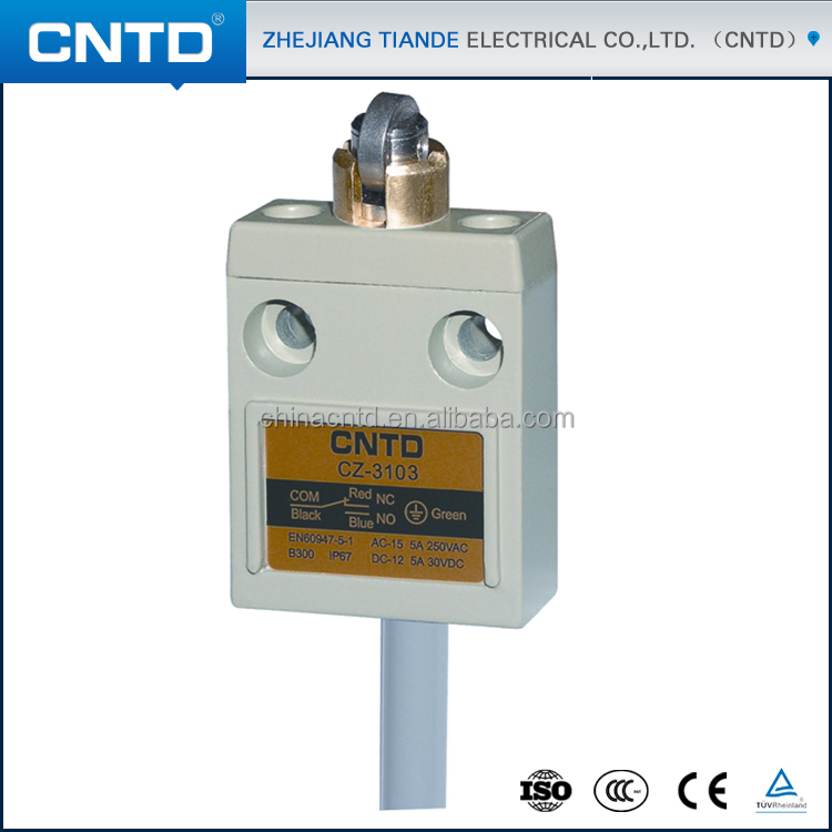 CNTD Stainless steel Cross Roller Limit Switch Underwater Limit Switch CZ-3103