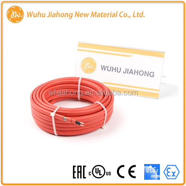 High quality roof and gutter de-icing cable/snow melting products /roof defrost heating cable factory